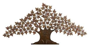 Wall Decor Metal Tree Amazon Com Deco 79 63186 Rustic Metal Tree Wall Decor 48 By 24