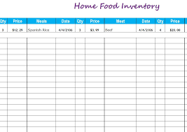 Simple Inventory Sheet Template Inventory Templates Free Inventory Templates