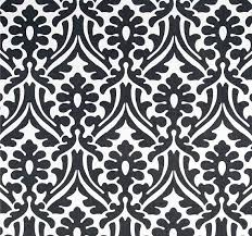 Indoor Outdoor Fabric For Upholstery Black U0026 White Indoor Outdoor Fabric By The Yard Designer Damask