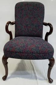 Floral Accent Chair Gooseneck Floral Accent Chairs By Kimball Dynamic Office Services