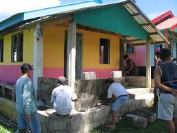 gk houses the gawad kalinga gk houses in naval biliran picture gallery