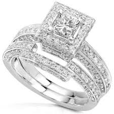 overstock wedding ring sets wedding ring set his and wedding rings sets black wedding