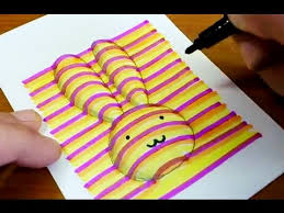 how to draw 3d rabbit coloring pages learning colouring videos