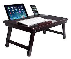 basic lap table bed tray amazon com sofia sam multi tasking laptop bed tray lap desk