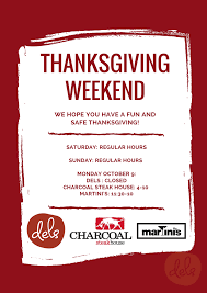 wish you thanksgiving dels enoteca pizzeria our thanksgiving hours we wish you a