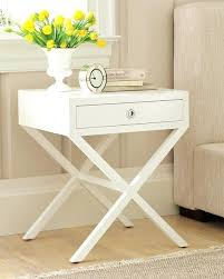White Gloss Side Table White Side Tables Bedroom Small White Bedside Cabinet Two Drawer