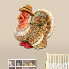 turkey door hanger thanksgiving turkey statue wayfair