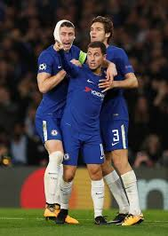 hazard double saves point for chelsea herald ie