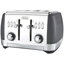 Under Cabinet 4 Slice Toaster Buy Breville Strata 4 Slice Toaster John Lewis