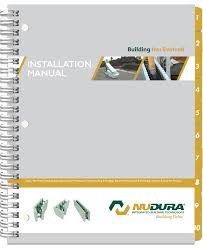 installation manual for nudura insulated concrete forms