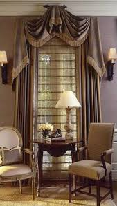 Curtain For Dining Room by Another Way To Dramatically Use Scarf Valances Whether In The Lace