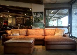 Rustic Leather Sofas Rustic Leather Sofa By Eleanor Rigby Tx Houston Tx