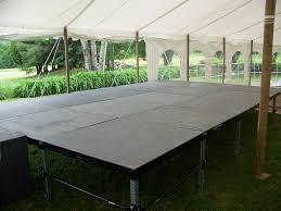 outdoor floor rental floor rentals event stage rental wedding floor