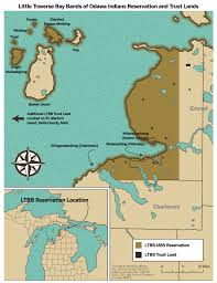 Michigan Indian Tribes Map by Hidden Reservation Dbusiness July August 2017 Detroit Mi