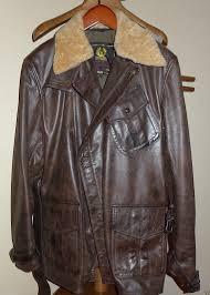 belstaff aviator movie xxl jacket antique brown very rare model