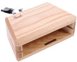 wood block pearl pab 20 wood block with holder thomann uk