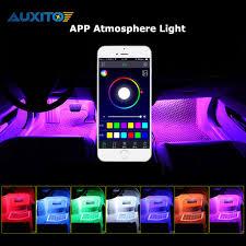 Phone App Control Car Interior Rgb Led Strip Light Atmosphere