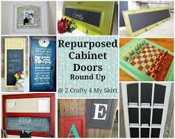 repurposed kitchen cabinets 2 crafty 4 my skirt round up repurposed old cabinet doors