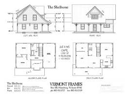 Post  Beam Home Plans In VT Timber Framing Floor Plans VT Frames - Post beam home designs