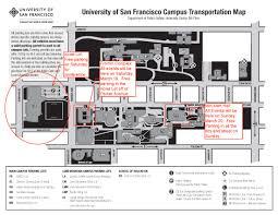 San Francisco Parking Permit Map by Usf Map San Francisco Michigan Map