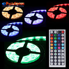 color changing led strip lights with remote waterproof 5m smd 5050 rgb color changing flexible 150 leds led