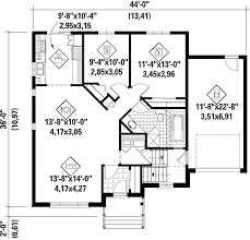 one floor plan house plans one plan 80631pm simple one house plans