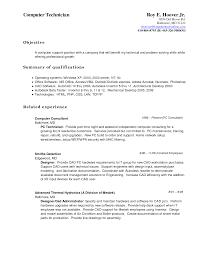 computer support resume best computer repair technician resume