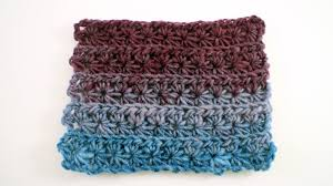crochet pattern using star stitch how to crochet the star stitch pattern youtube