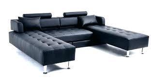 canap lit en cuir canap convertible simili cuir affordable canap mridienne cuir lgant