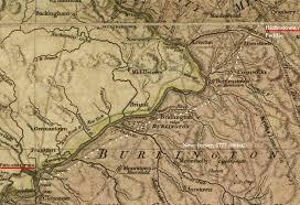 road map of york york road lower road hightstown nj to philadelphia