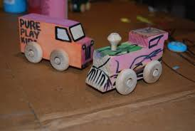 Make Your Own Wooden Toy Train by Pure Play Kids Blog Archive Make Your Own Wooden Vehicles