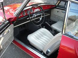 Karmann Ghia Interior 1963 Vw Type 34 Karmann Ghia Coupe
