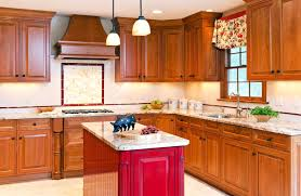 cool red kitchen island v55 bjly home interiors furnitures ideas