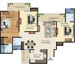 3 Bhk Apartment Floor Plan by Amrapali Verona Heights In Techzone 4 Noida Price Location Map