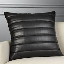 Black Sofa Pillows by Unique Pillows And Throws Cb2