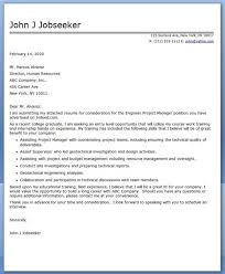 construction manager cover letter sample cover letter for project