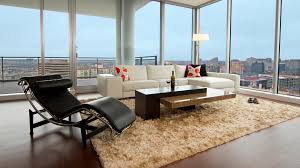 Modern Shag Rug Shag Rug Living Room Modern With Chaise Lounge City