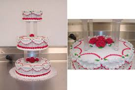 candy apple red wedding cake by ayarel on deviantart