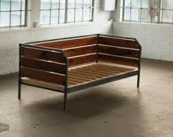 modern redwood sofa or daybed steel frame custom