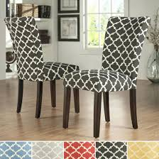 dining room chair upholstery fabric dining chairs inspire q pattern fabric parsons dining chair set