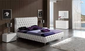 Modern Luxury Bedroom Furniture White Leather Bedroom Furniture Descargas Mundiales Com