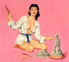 the vintage pin up girls print sell collection from a p e