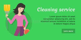 annonce nettoyage bureaux carte d annonce de service de nettoyage bannière affiche fier