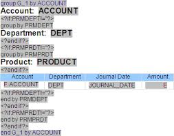dynamic report grouping with oracle bi publisher edgewater