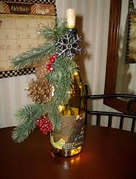 How To Decorate A Wine Bottle Christmas Wine Bottle Decorations Rainforest Islands Ferry