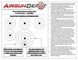 printable targets airgun depot