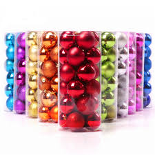 shiny bauble promotion shop for promotional shiny bauble on 24pcs set shiny and polshed glossy xmas tree ball decoration hanging ornament baubles party christmas decorations for home 1 5