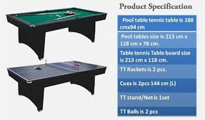 snooker table tennis table game table snooker tt table wholesale trader from ahmedabad