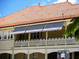 Powered Awnings Sunesta And Sunbusta Awnings With Drop Arm System