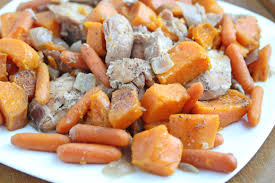 slow cooker steak and potatoes 5 dollar dinnerscom slow cooker maple chicken with sweet potatoes 5 dinner challenge